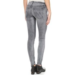 Mother Looker Mid Rise Skinny Jeans